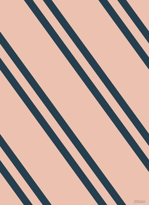 126 degree angle dual striped lines, 23 pixel lines width, 26 and 121 pixel line spacing, Nile Blue and Zinnwaldite dual two line striped seamless tileable