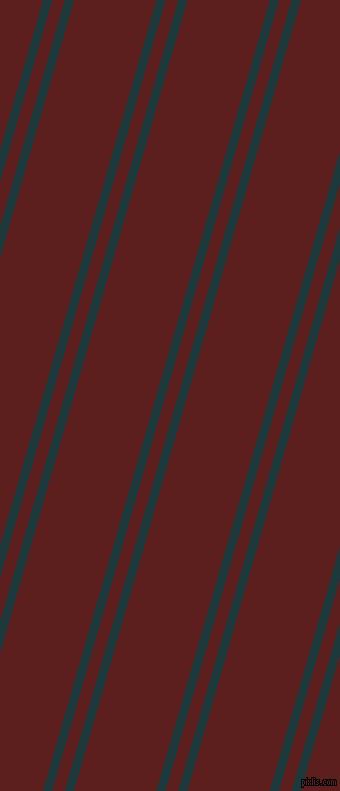 74 degree angles dual stripes line, 9 pixel line width, 12 and 79 pixels line spacingNordic and Red Oxide dual two line striped seamless tileable