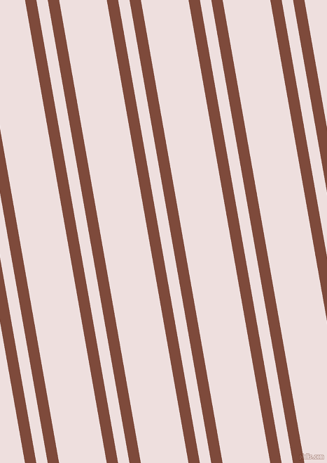 100 degree angles dual striped lines, 16 pixel lines width, 16 and 67 pixels line spacing, Nutmeg and Soft Peach dual two line striped seamless tileable