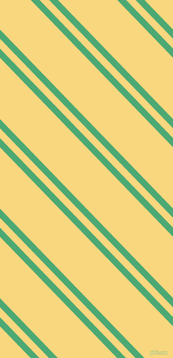 134 degree angle dual stripe line, 13 pixel line width, 14 and 87 pixel line spacing, Ocean Green and Golden Glow dual two line striped seamless tileable
