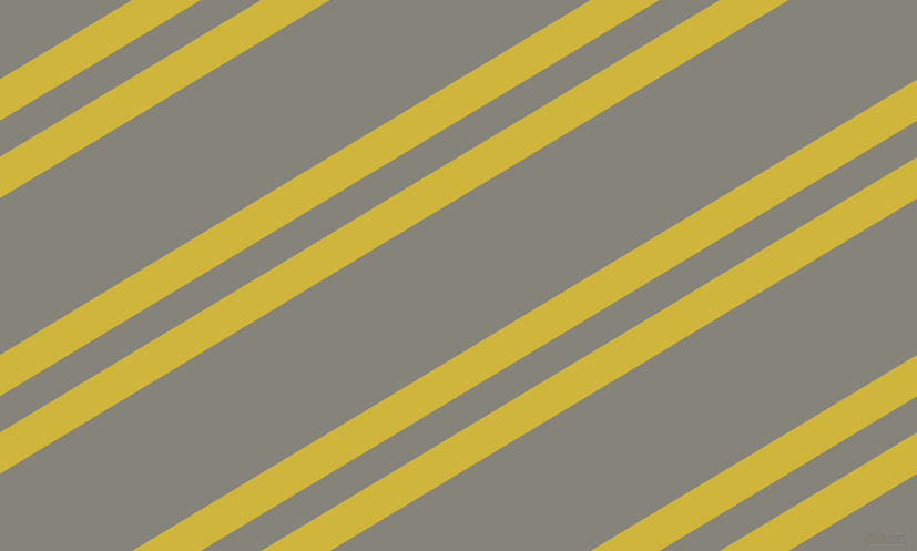 31 degree angle dual stripes lines, 32 pixel lines width, 28 and 121 pixel line spacing, Old Gold and Friar Grey dual two line striped seamless tileable