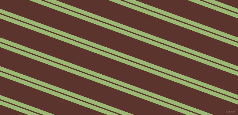 160 degree angles dual striped lines, 13 pixel lines width, 4 and 59 pixels line spacing, Olivine and Redwood dual two line striped seamless tileable