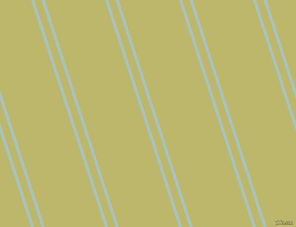 108 degree angle dual stripes line, 6 pixel line width, 14 and 114 pixel line spacing, Opal and Dark Khaki dual two line striped seamless tileable
