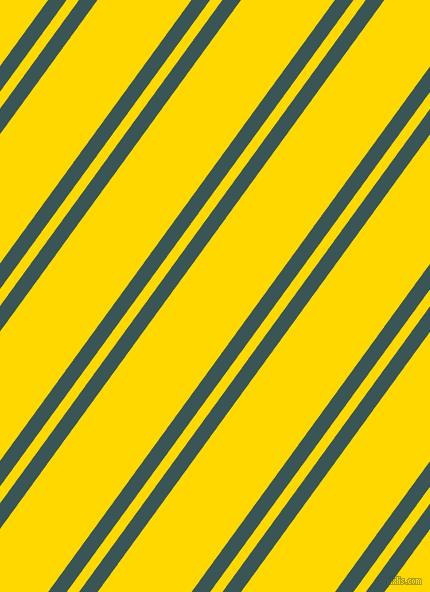 54 degree angles dual striped line, 15 pixel line width, 10 and 76 pixels line spacing, Oracle and School Bus Yellow dual two line striped seamless tileable