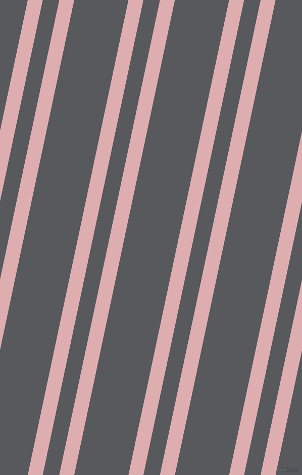 78 degree angles dual striped lines, 29 pixel lines width, 32 and 105 pixels line spacing, Pale Chestnut and Bright Grey dual two line striped seamless tileable