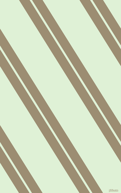 122 degree angles dual striped lines, 35 pixel lines width, 8 and 122 pixels line spacing, Pale Oyster and Hint Of Green dual two line striped seamless tileable