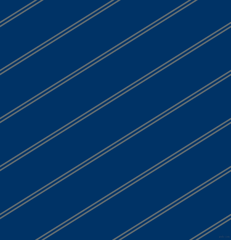 32 degree angles dual stripe line, 5 pixel line width, 6 and 119 pixels line spacing, Pale Sky and Prussian Blue dual two line striped seamless tileable