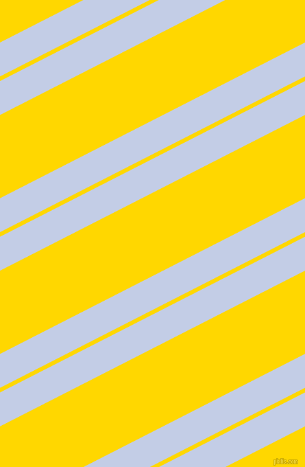 27 degree angles dual stripes line, 44 pixel line width, 6 and 108 pixels line spacing, Periwinkle and Gold dual two line striped seamless tileable