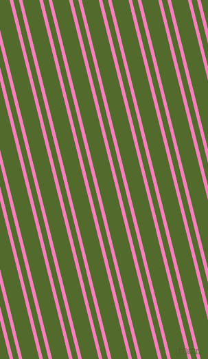 104 degree angle dual stripes line, 5 pixel line width, 8 and 24 pixel line spacing, Persian Pink and Green Leaf dual two line striped seamless tileable