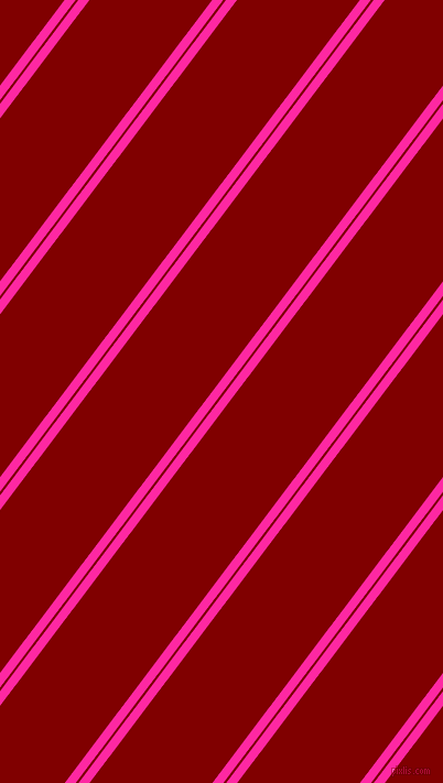 53 degree angles dual stripes line, 8 pixel line width, 2 and 89 pixels line spacing, Persian Rose and Maroon dual two line striped seamless tileable