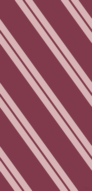 126 degree angle dual striped line, 26 pixel line width, 8 and 95 pixel line spacing, Pink Flare and Camelot dual two line striped seamless tileable