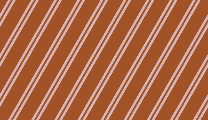60 degree angle dual stripe line, 8 pixel line width, 6 and 44 pixel line spacing, Pink Flare and Rich Gold dual two line striped seamless tileable