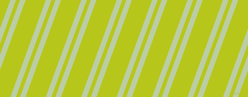70 degree angle dual stripes line, 17 pixel line width, 12 and 61 pixel line spacing, Pixie Green and Rio Grande dual two line striped seamless tileable