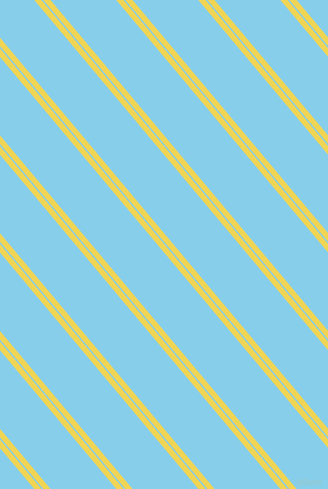 130 degree angle dual stripes lines, 8 pixel lines width, 2 and 73 pixel line spacing, Portica and Sky Blue dual two line striped seamless tileable