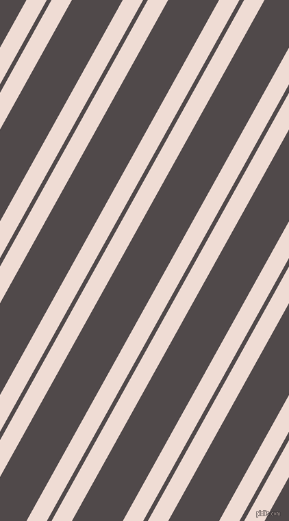 61 degree angles dual stripe line, 26 pixel line width, 6 and 65 pixels line spacing, Pot Pourri and Emperor dual two line striped seamless tileable