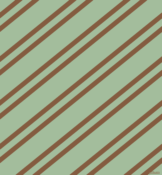 39 degree angle dual striped line, 16 pixel line width, 20 and 64 pixel line spacing, Potters Clay and Spring Rain dual two line striped seamless tileable