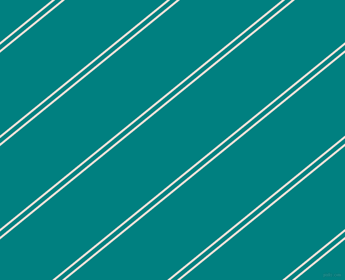 39 degree angles dual stripes line, 4 pixel line width, 8 and 126 pixels line spacing, Provincial Pink and Teal dual two line striped seamless tileable