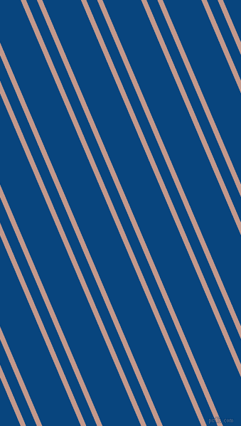113 degree angles dual stripe line, 7 pixel line width, 14 and 50 pixels line spacing, Quicksand and Dark Cerulean dual two line striped seamless tileable
