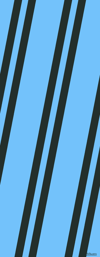 79 degree angles dual stripe lines, 25 pixel lines width, 20 and 92 pixels line spacing, Racing Green and Maya Blue dual two line striped seamless tileable