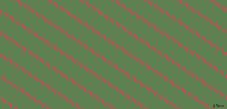 146 degree angles dual stripes line, 2 pixel line width, 4 and 54 pixels line spacing, Radical Red and Glade Green dual two line striped seamless tileable