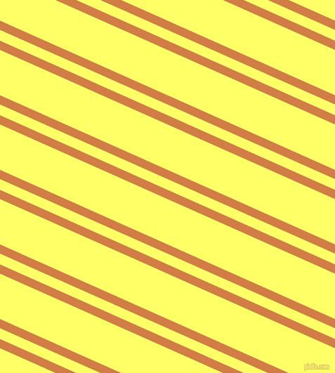 156 degree angles dual striped line, 12 pixel line width, 14 and 59 pixels line spacing, Raw Sienna and Laser Lemon dual two line striped seamless tileable