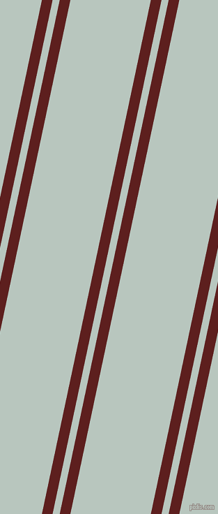 78 degree angles dual striped line, 15 pixel line width, 10 and 113 pixels line spacing, Red Oxide and Nebula dual two line striped seamless tileable
