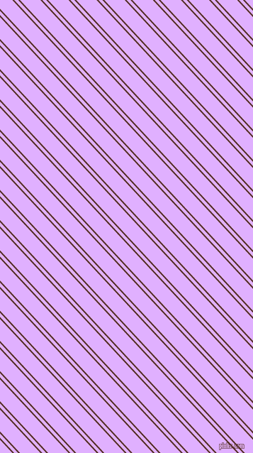 133 degree angles dual stripe lines, 2 pixel lines width, 4 and 21 pixels line spacing, Redwood and Mauve dual two line striped seamless tileable