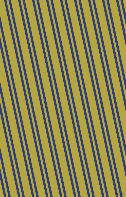 102 degree angles dual stripes lines, 9 pixel lines width, 8 and 28 pixels line spacing, Resolution Blue and Brass dual two line striped seamless tileable