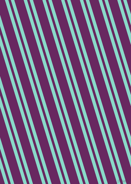107 degree angle dual stripe line, 11 pixel line width, 8 and 30 pixel line spacing, Riptide and Palatinate Purple dual two line striped seamless tileable
