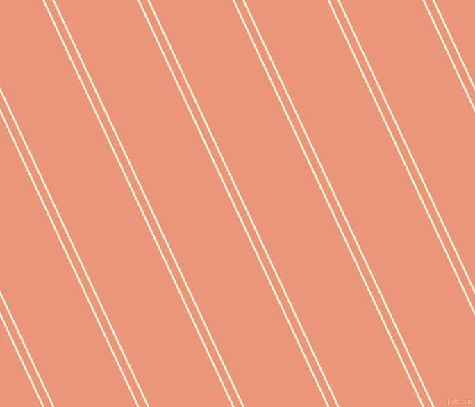 115 degree angles dual stripe line, 3 pixel line width, 10 and 108 pixels line spacing, Rum Swizzle and Dark Salmon dual two line striped seamless tileable