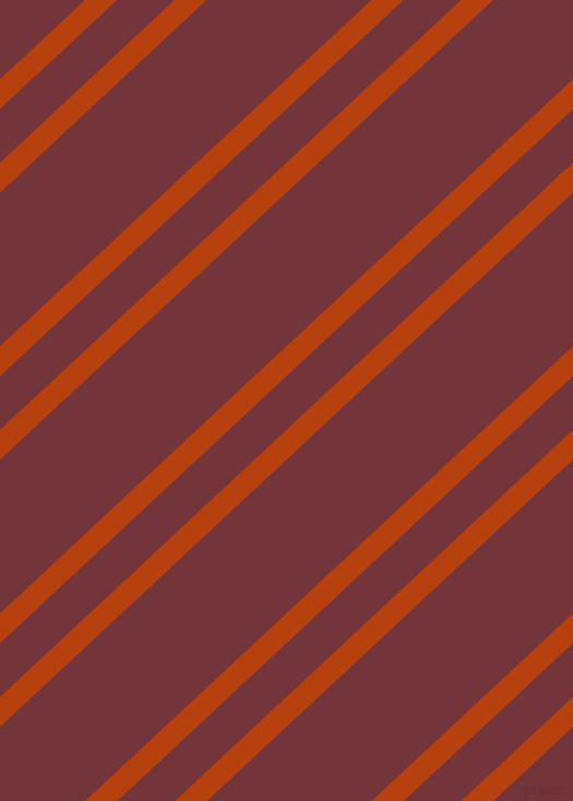 43 degree angle dual stripe lines, 20 pixel lines width, 36 and 103 pixel line spacing, Rust and Merlot dual two line striped seamless tileable