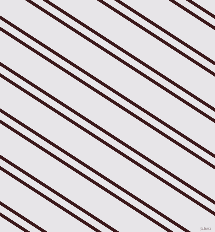 147 degree angles dual stripes line, 10 pixel line width, 20 and 84 pixels line spacing, Rustic Red and White Lilac dual two line striped seamless tileable