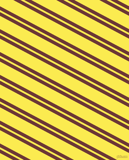 152 degree angles dual stripes line, 11 pixel line width, 6 and 39 pixels line spacingSanguine Brown and Paris Daisy dual two line striped seamless tileable