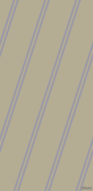 72 degree angle dual stripe line, 6 pixel line width, 6 and 81 pixel line spacing, Santas Grey and Bison Hide dual two line striped seamless tileable