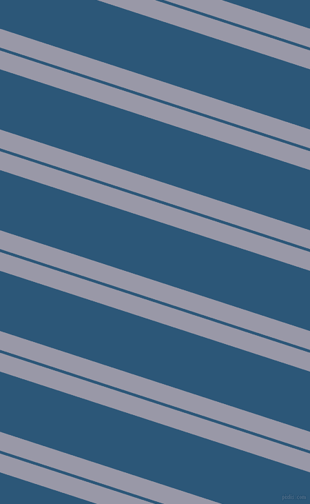 162 degree angle dual stripes line, 26 pixel line width, 4 and 83 pixel line spacing, Santas Grey and Venice Blue dual two line striped seamless tileable