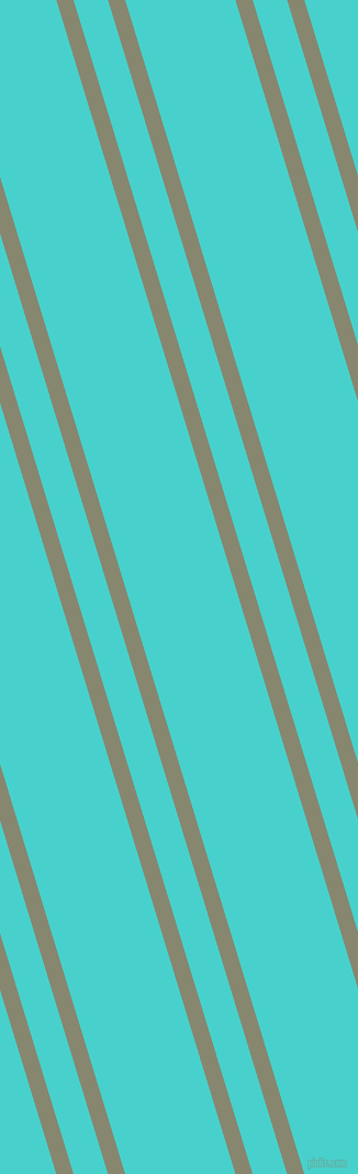 107 degree angles dual stripes line, 15 pixel line width, 30 and 96 pixels line spacing, Schist and Medium Turquoise dual two line striped seamless tileable