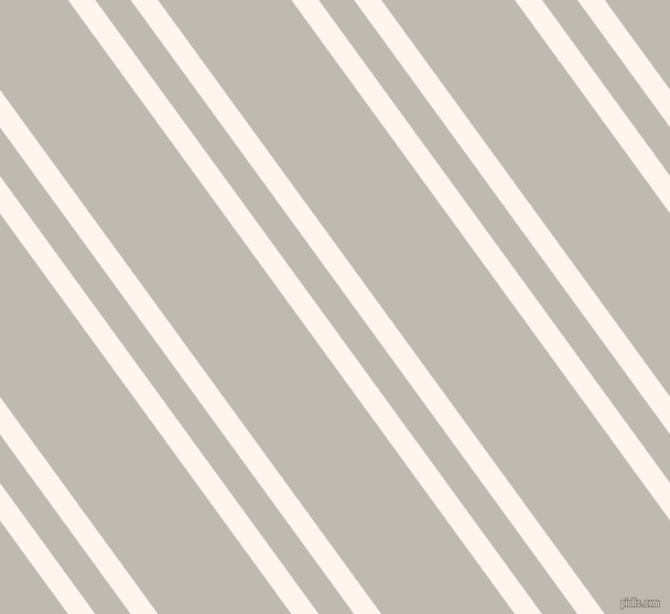 126 degree angles dual stripe lines, 20 pixel lines width, 26 and 98 pixels line spacing, Seashell and Cotton Seed dual two line striped seamless tileable