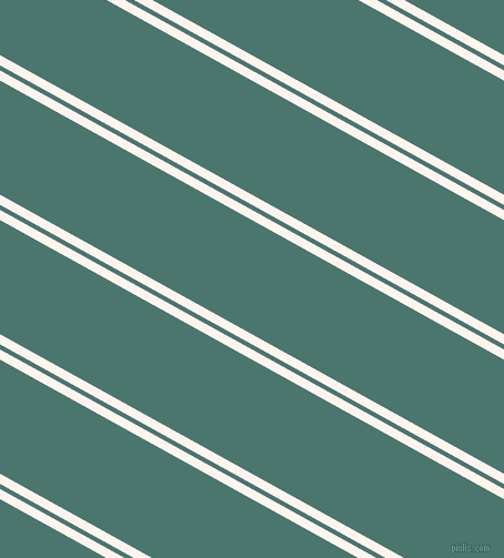 151 degree angles dual stripes lines, 8 pixel lines width, 4 and 90 pixels line spacing, Seashell and Dark Green Copper dual two line striped seamless tileable