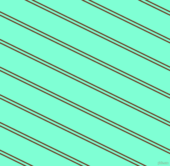 154 degree angles dual striped line, 4 pixel line width, 6 and 69 pixels line spacing, Semi-Sweet Chocolate and Aquamarine dual two line striped seamless tileable