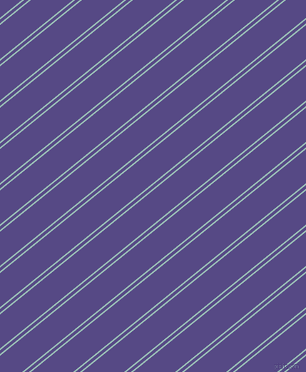 39 degree angles dual striped line, 2 pixel line width, 4 and 37 pixels line spacing, Shadow Green and Victoria dual two line striped seamless tileable