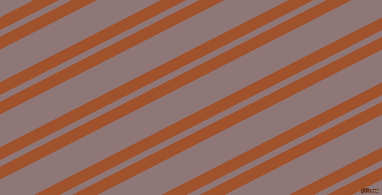 27 degree angle dual stripes lines, 23 pixel lines width, 12 and 59 pixel line spacing, Sienna and Bazaar dual two line striped seamless tileable