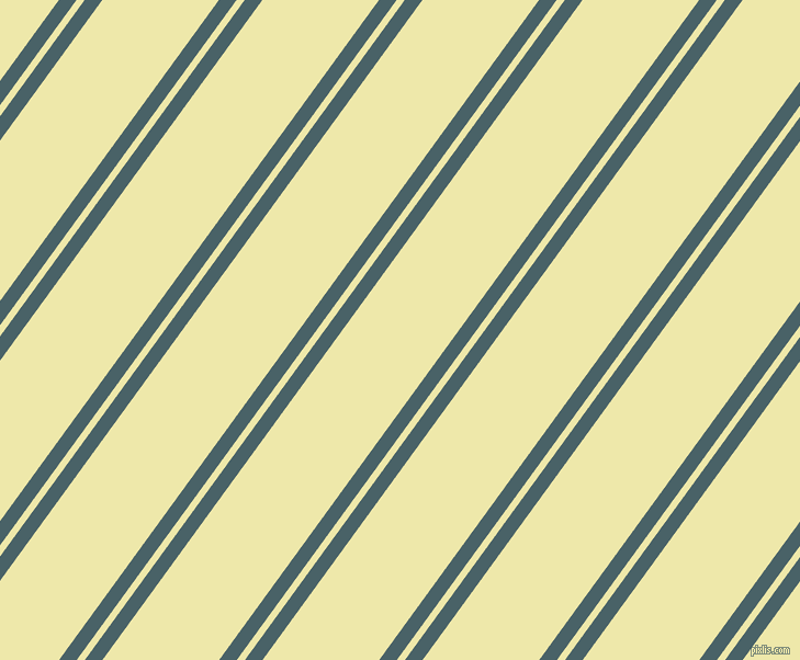 54 degree angles dual stripes lines, 13 pixel lines width, 6 and 86 pixels line spacingSmalt Blue and Pale Goldenrod dual two line striped seamless tileable