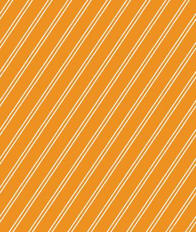 56 degree angles dual stripe lines, 2 pixel lines width, 4 and 24 pixels line spacingSnow and Carrot Orange dual two line striped seamless tileable