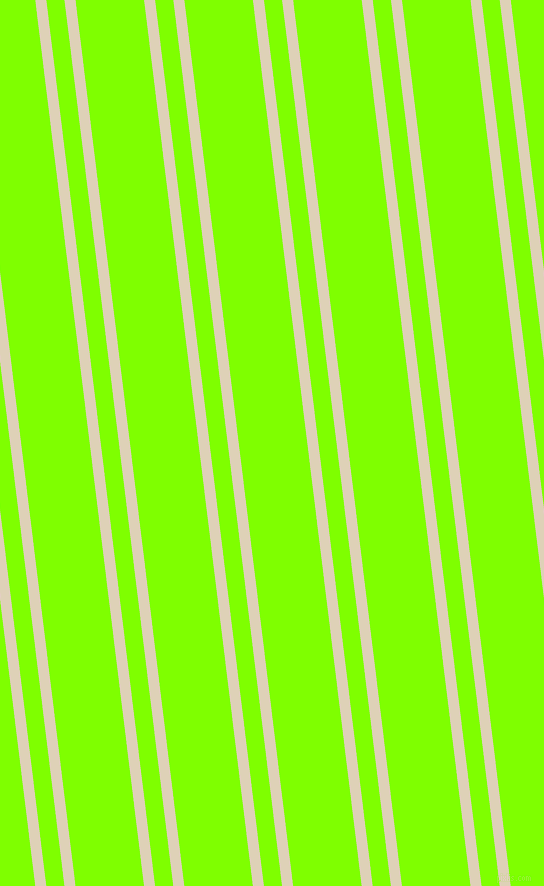 97 degree angle dual striped line, 11 pixel line width, 18 and 68 pixel line spacing, Spanish White and Chartreuse dual two line striped seamless tileable