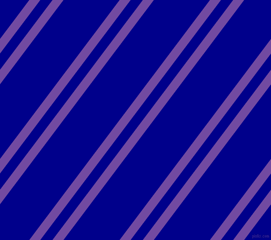 53 degree angle dual stripes line, 18 pixel line width, 20 and 92 pixel line spacing, Studio and Dark Blue dual two line striped seamless tileable