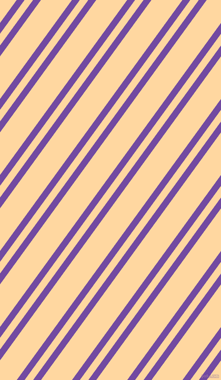 54 degree angle dual stripes line, 13 pixel line width, 14 and 51 pixel line spacing, Studio and Frangipani dual two line striped seamless tileable