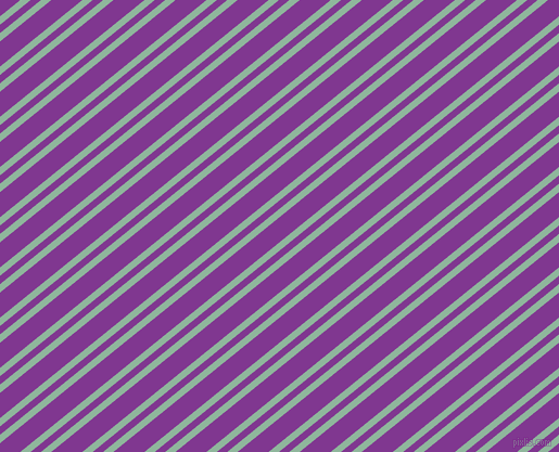 39 degree angle dual stripes line, 6 pixel line width, 6 and 18 pixel line spacing, Summer Green and Vivid Violet dual two line striped seamless tileable