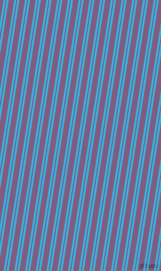 81 degree angles dual stripe line, 4 pixel line width, 2 and 11 pixels line spacing, Summer Sky and Trendy Pink dual two line striped seamless tileable