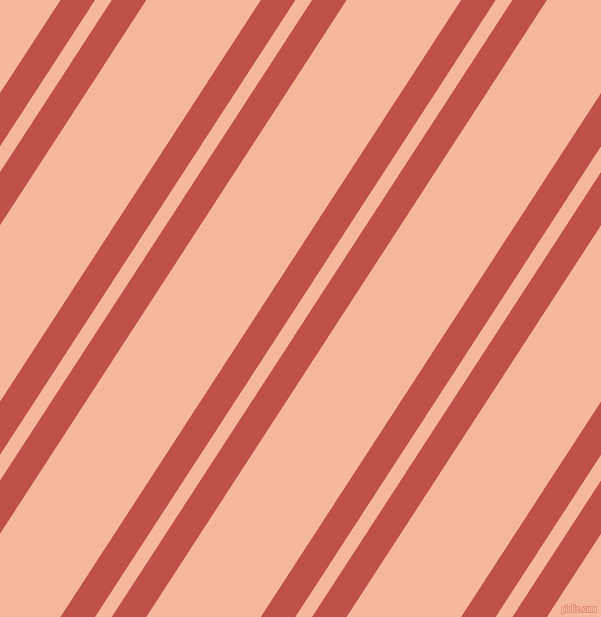 57 degree angles dual stripe lines, 29 pixel lines width, 14 and 96 pixels line spacing, Sunset and Mandys Pink dual two line striped seamless tileable
