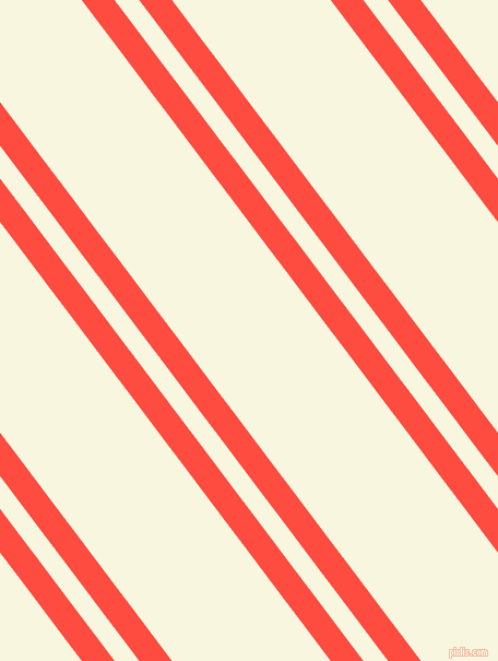 127 degree angle dual striped lines, 24 pixel lines width, 18 and 116 pixel line spacing, Sunset Orange and Promenade dual two line striped seamless tileable